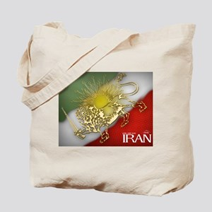 Iran Golden Lion & Sun Tote Bag