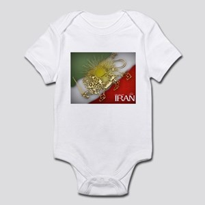 Iran Golden Lion & Sun Infant Bodysuit