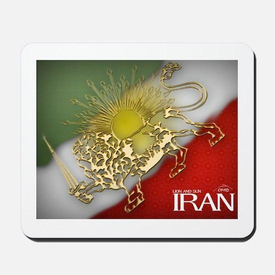 Iran Golden Lion & Sun Mousepad