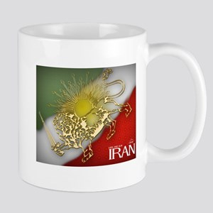 Iran Golden Lion & Sun Mug