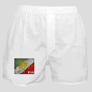 Iran Golden Lion & Sun Boxer Shorts