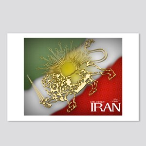 Iran Golden Lion & Sun Postcards (Package of 8)
