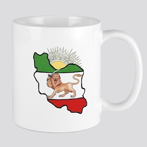 Iran Flag-Map & Sun Mug