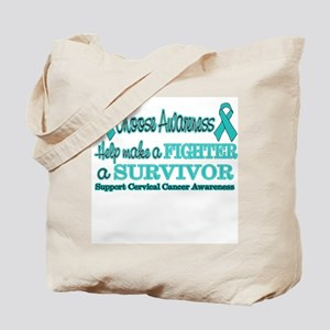 Fighters and Survivors Cervic Tote Bag