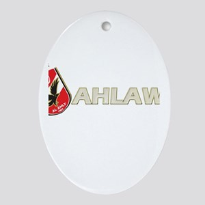 Ahlawy Oval Ornament