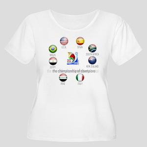 Confederations Cup '09 Women's Plus Size Scoop Nec