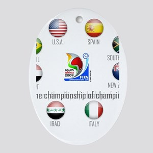 Confederations Cup '09 Oval Ornament