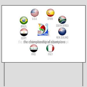 Confederations Cup '09 Yard Sign