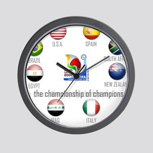 Confederations Cup '09 Wall Clock