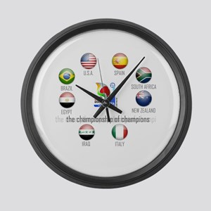 Confederations Cup '09 Large Wall Clock