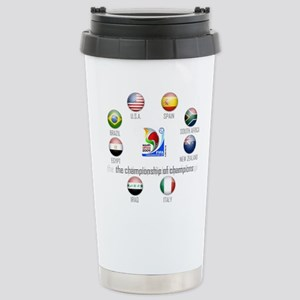 Confederations Cup '09 Stainless Steel Travel Mug