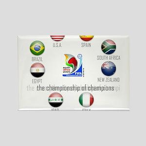 Confederations Cup '09 Rectangle Magnet