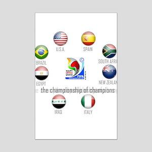 Confederations Cup '09 Mini Poster Print