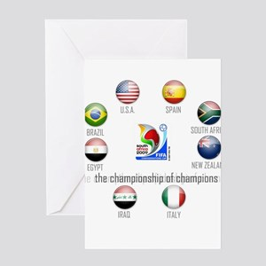 Confederations Cup '09 Greeting Card