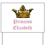 Princess Elizabeth Yard Sign