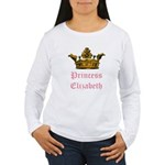 Princess Elizabeth Women's Long Sleeve T-Shirt