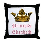 Princess Elizabeth Throw Pillow