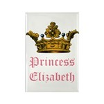 Princess Elizabeth Rectangle Magnet (100 pack)