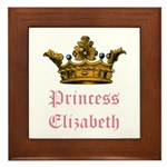 Princess Elizabeth Framed Tile