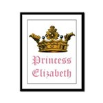 Princess Elizabeth Framed Panel Print