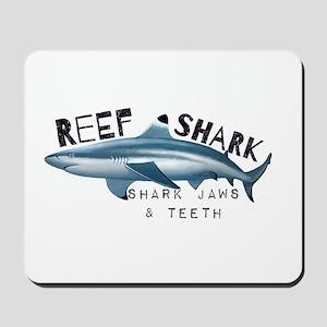 Reef Shark Logo Mousepad