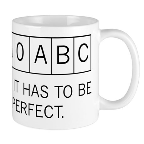 2-Make It Perfect Mugs