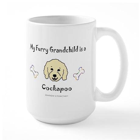 cockapoo gifts Large Mug