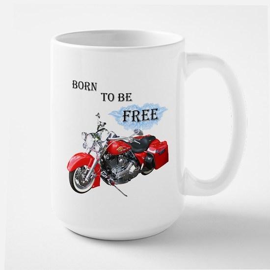 Born To Be Free Large Mug