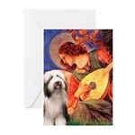 Mandolin / Beardie #1 Greeting Cards (Pk of 10)