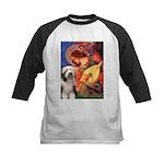 Mandolin / Beardie #1 Kids Baseball Jersey