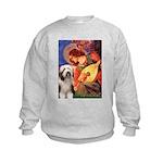 Mandolin / Beardie #1 Kids Sweatshirt