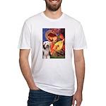 Mandolin / Beardie #1 Fitted T-Shirt