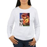 Mandolin / Beardie #1 Women's Long Sleeve T-Shirt