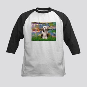 Lilies / Beardie #1 Kids Baseball Jersey