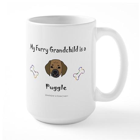 puggle gifts Large Mug