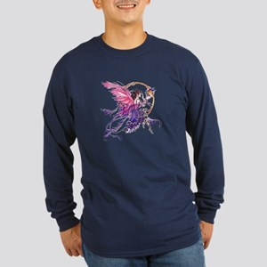 Tales of the Dragon Fairy Long Sleeve Dark T-Shirt