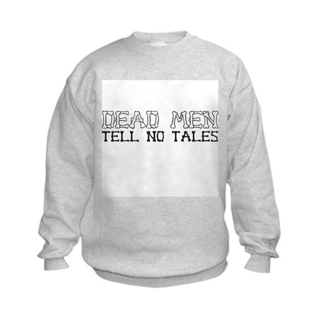 Dead Men Tell No Tales Kids Sweatshirt