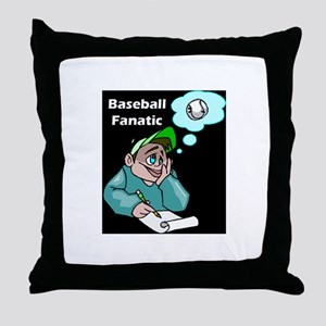 kids baseball Throw Pillow
