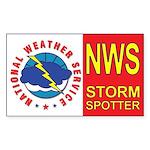 NWS STORM SPOTTER Window/Bumper Sticker