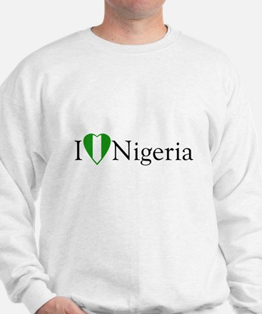 I Love Nigeria Sweatshirt