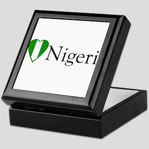 I Love Nigeria Keepsake Box