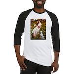 Windflowers / Dalmatian #1 Baseball Jersey