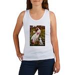 Windflowers / Dalmatian #1 Women's Tank Top