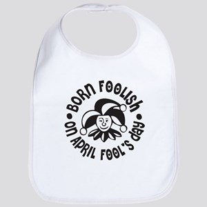 April Fool's Birthday Bib