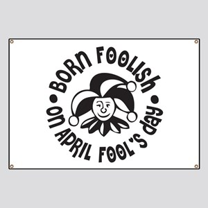 April Fool's Birthday Banner