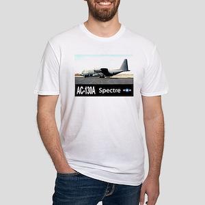 C-130 SPECTRE GUNSHIP Fitted T-Shirt