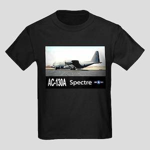 C-130 SPECTRE GUNSHIP Kids Dark T-Shirt