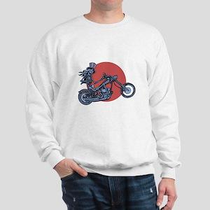 Skeleton Rider III Sweatshirt