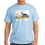 Audubon Caribou Reindeer Animal Light T-Shirt
