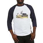 Audubon Caribou Reindeer Animal (Front) Baseball J